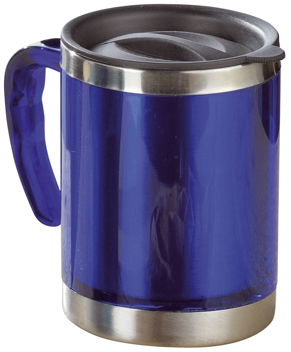 Coffee-to-go Becher - blau, 380 ml
