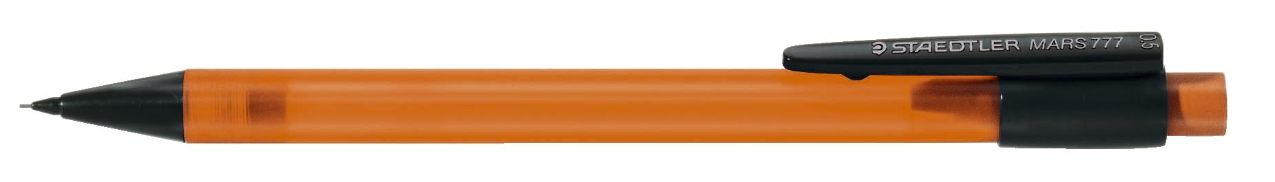 Druckbleistift graphite 777, 0,5 mm, B, orange transparent