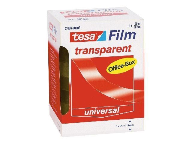 Klebefilm transparent - Tesa Office Box - 19 mm x 66 m (8)