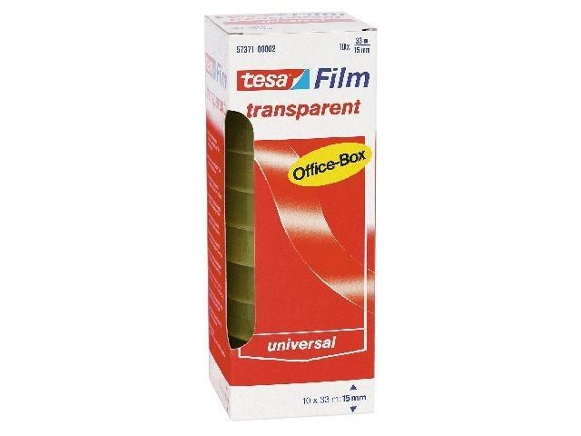 Klebefilm transparent - Tesa Office Box - 15mm x 33 m (10)