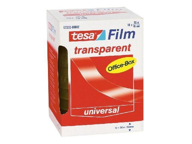 Klebefilm transparent - Tesa Office Box - 15 mm x 66 m (10)