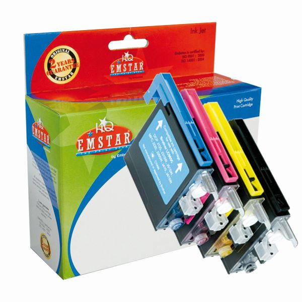 Emstar Inkjet Patrone (Brother LC985) B60 Multipack