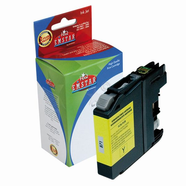 Emstar Inkjet Patrone (Brother LC123) B71 yellow