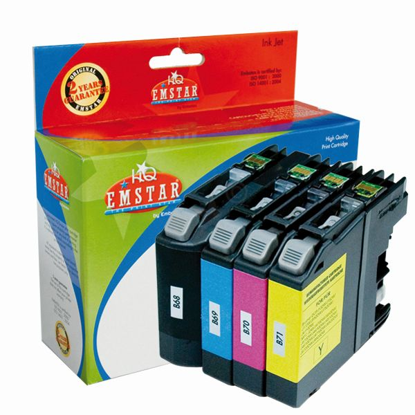 Emstar Inkjet Patrone (Brother LC123) B72 Multipack
