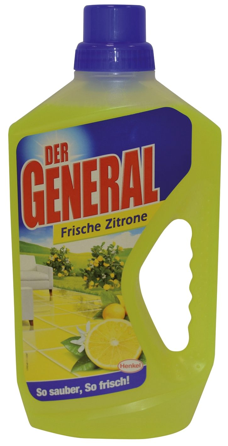 Bodenplege Der General - Zitrone 750 ml