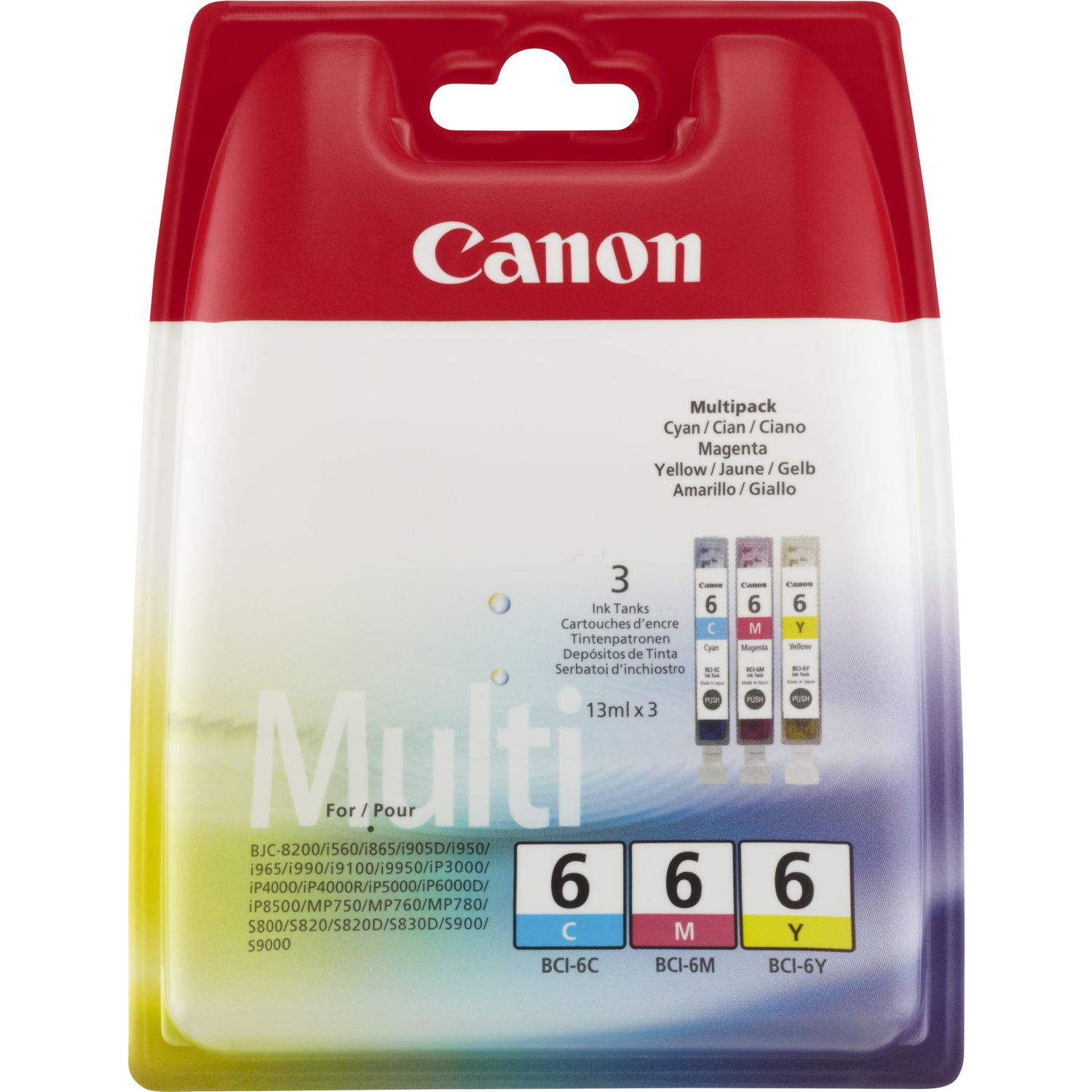 Canon Inkjet Patrone BCI-6 Multipack